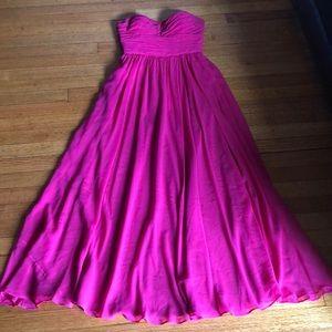 Aidan mattox pink dress